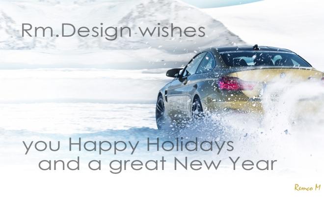 BMW christmas card